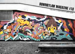 si e de mural downbylaw graffiti magazine shop