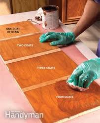 how to get stains out of wood table how to stain wood evenly without getting blotches and dark spots