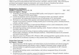 oracle dba tester sample resume download qa consultant resume sample