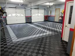 Garage Floor Tiles Cheap Before And After Truelock Hd Garage Floor Tiles
