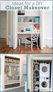 Laundry Room Closet by 70 Best Closet Makeovers Images On Pinterest Entryway Closet