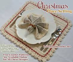 christmas napkin rings table linens make christmas napkin rings with these free crochet patterns