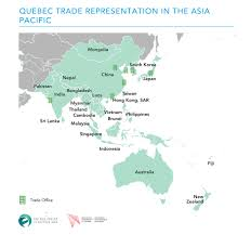 Quebec Canada Map Quebec The Asia Factor
