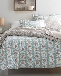 Organic Cotton Duvet Cover Mina Floral Organic Cotton Percale Bedding Garnet Hill