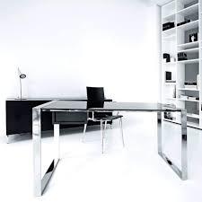 home office contemporary desk glass home office computer desk contemporary desks saratoga black