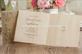 wishmade arabic india royal wedding invitation card birthday card