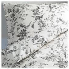 Strandkrypa Ikea Floral Bedding And No I Don U0027t Iron Alvine Kvist Duvet Cover And Pillowcase S White Gray Duvet