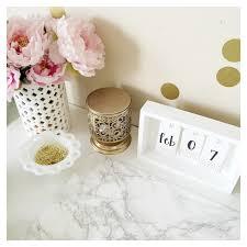 Diy Desk Calendar by All Things Pink And Pretty Diy Desk Calendar U0026 Desk Mat