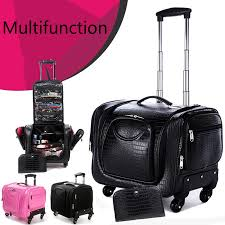 professional makeup artist bag online shop vanity women beautician travel makeup suitcase make up