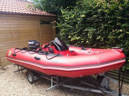 zodiac futura mk2 superb fast inflatable boat 30hp etec evinrude