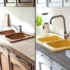 plan de travail en r駸ine pour cuisine peinture resine cuisine protection peinture resine plan de travail
