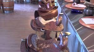 horse saddle bar stools krause berry farms langley bc youtube