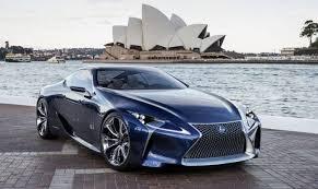 future lexus cars history of lexus future concept cars lexus