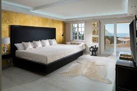 Gold And Black Bedroom by Gold And Black Living Room Eclectic With Black White Cone Recessed