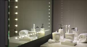 Bathroom Lighted Mirrors by Sweet Lighted Mirror For Romantic Bathroom Look Illuminated