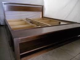 Platform King Size Bed Frame King Platform Bed Frame Diy Rs Floral Design Wooden Style King