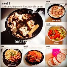 fighter diet meal plan example day recipes pinterest diet