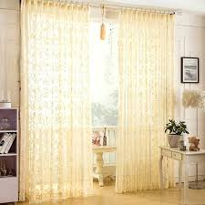 Yellow Nursery Curtains Pale Yellow Curtains Teawing Co