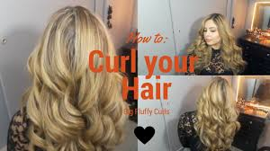pageant curls hair cruellers versus curling iron easy big fluffy curls with 1 inch hot tools curling iron youtube