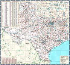 Mexico Wall Map Texas State Reference Wall Map By Compart Maps