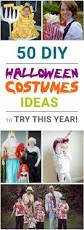 diy halloween costumes ideas to try this year