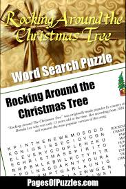 Brenda Lee Rockin Around The Christmas Tree Lyrics Rocking Around The Christmas Tree Word Search U2013 Pages Of Puzzles