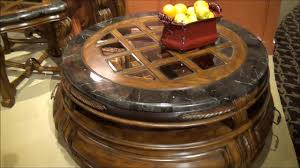 Michael Amini Oppulente Collection Tuscano Melange Coffee Table Set By Michael Amini Aico Home