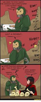 Doom Guy Meme - we need to stay alert the demons are everywhere i can almost hear