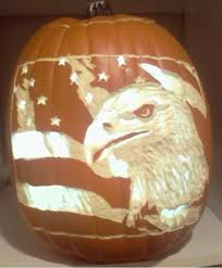 American Flag Pumpkin Carvings by Proud To Be An American Illuminatedcarves Com