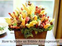 arrangement edible you can do this how to make an edible arrangement one hundred