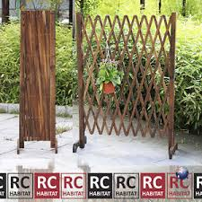 Climbing Plant Supports - garden climbing plant support expandable lattice screen wooden