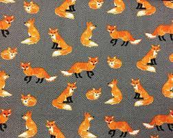 fox minky blanket etsy