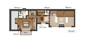ski chalet house plans catered ski chalet meribel lodge shl leo trippi