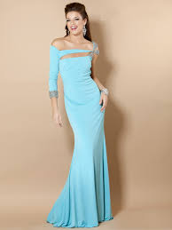 asymmetric beading corset blue prom dress 2013 on sale asymmetric