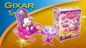 hello kitty lovely room rocking chair and table youtube