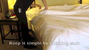 How To Make A Bed Like A Pro Regent How To Make A Bed The Four Seasons Way Youtube