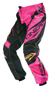 pink motocross bike oneal new 2016 ladies mx gear element pink yellow motocross bike