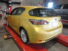 lexus body shop 2012 lexus ct200 hybrid after your certified auto body repair