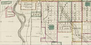 Denver Co Map Thayer U0027s Map Of Denver Colorado 1879 Across The Creek