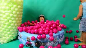 balls for kids children toddlers games room with spiderman kinder