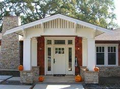 before and after ranch style home into craftsman style home