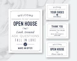 Real Estate Open House Sign In Sheet Template by Best Deal Real Estate Welcome To Our Open House Printables