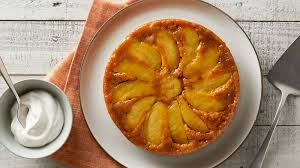 apple pie upside down pumpkin cake recipe bettycrocker com