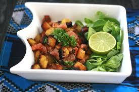 cuisiner la banane plantain banane plantain rissolée au saumon aistou cuisine