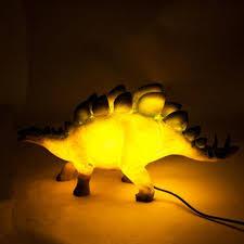 stegosaurus dinosaur led night light table lamp dino desk night