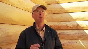 Energy Efficient Home Construction Energy Efficient Log Cabin Construction Workshop Youtube