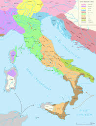 Roman Map Map Of Ancient Roman Roads In Italy My Blog