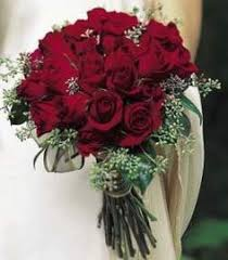 Red Rose Bouquet Red Rose Bridal Bouquet Wedding Bouquet Wedding Bridal Bouquets