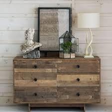 Pine Bedroom Dresser Emmerson Reclaimed Wood 6 Drawer Dresser West Elm
