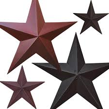 Metal Star Home Decor Metal Barn Stars Primitive Home Decors